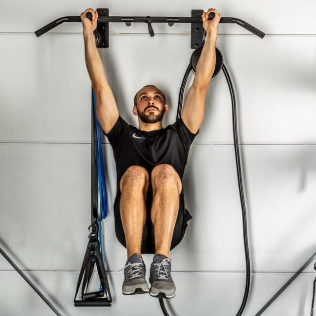 Aerobis multi workout station and pull up bar for home gym