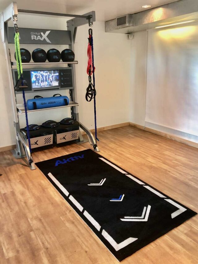 Personal Training Mat for functional training