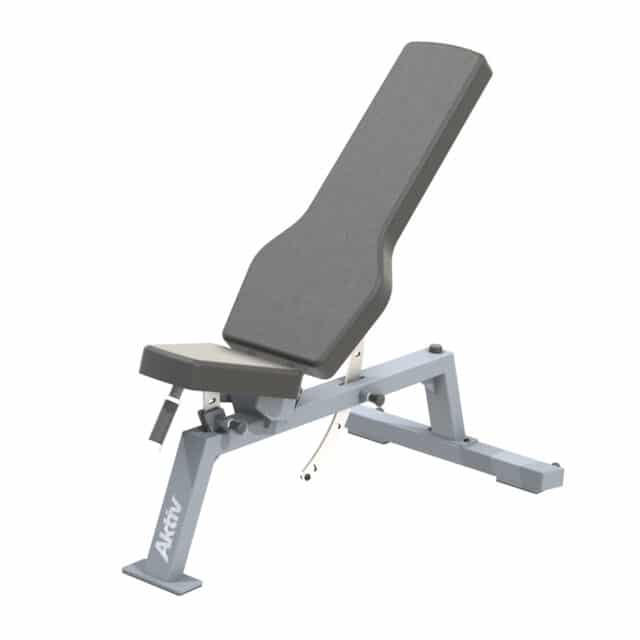 aktiv forma Adjustable fitness bench for free weight workouts in gym or home gym