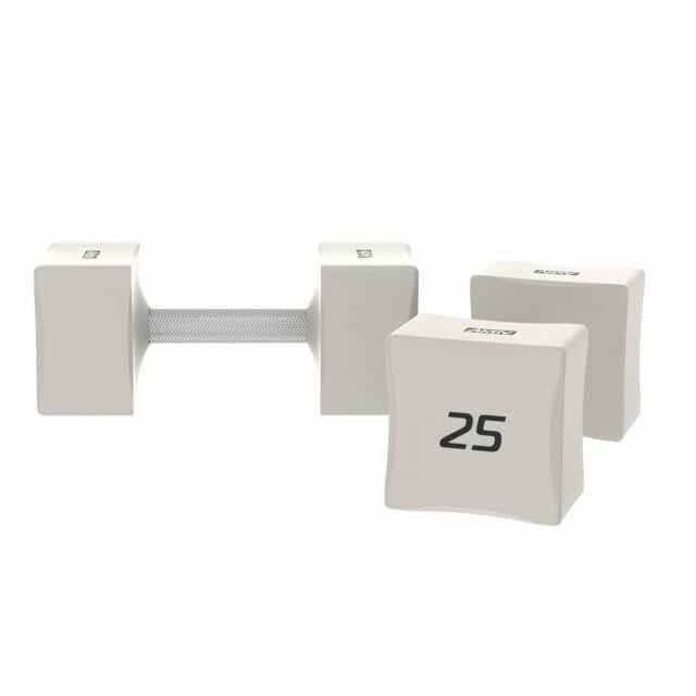white square dumbbells aktiv forma for gym or home gym workouts