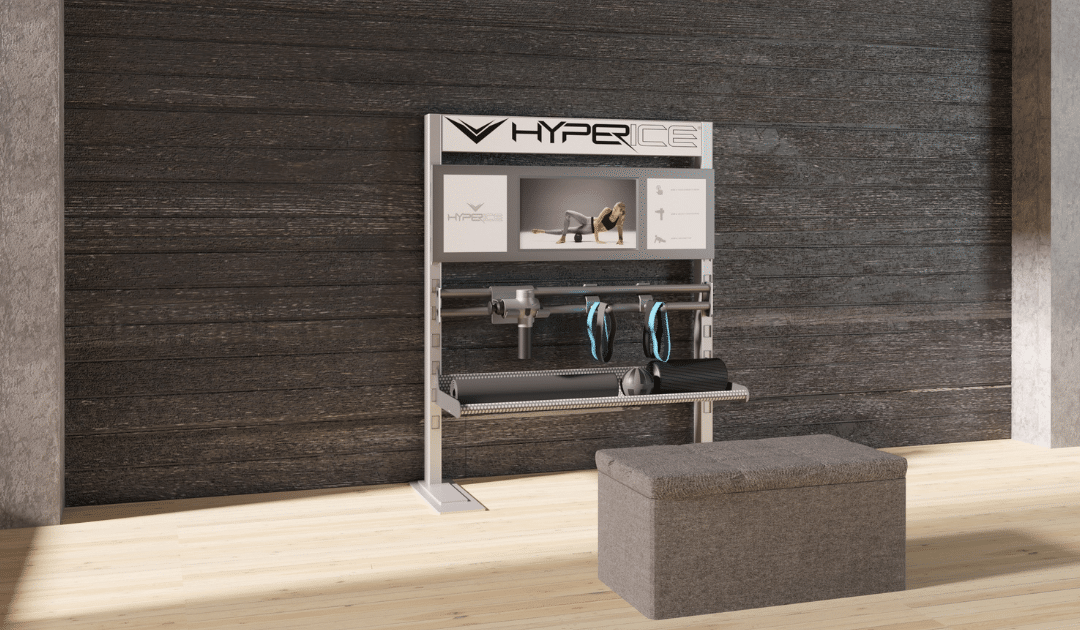 workplace wellness recovery spaces design by aktiv solutions and hyperice