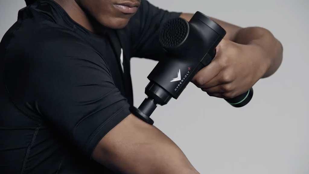 hypervolt+ biceps triceps