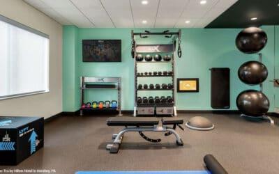 Tru by Hilton is Getting Gym Design Right
