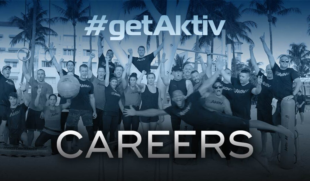 Aktiv Hiring Jobs Available Join Our Team