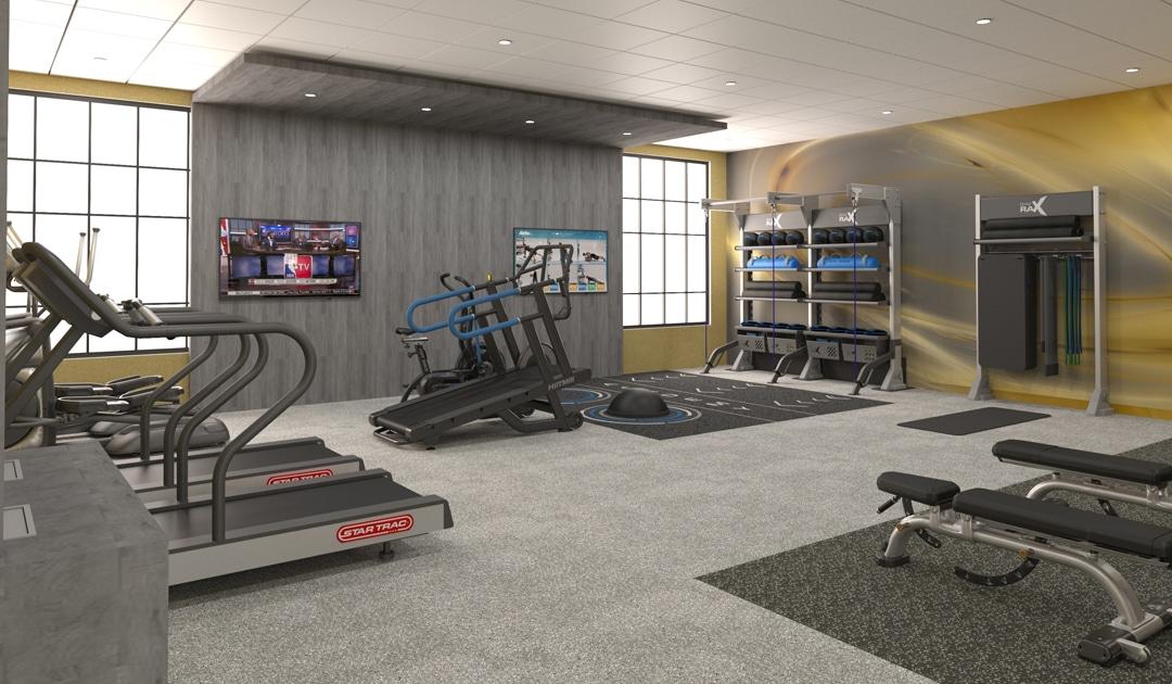 floorplan gym design balance functional training and cardio fitness equipment