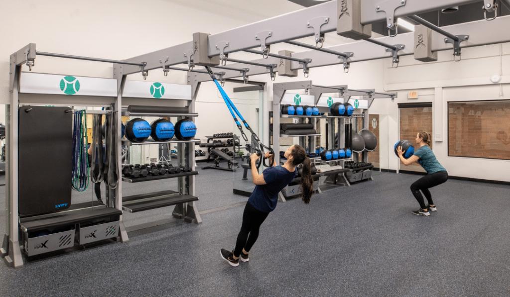 Mountain Park gym design court conversion